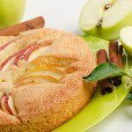 עוגת קרם שקדים ותפוחים לראש השנה