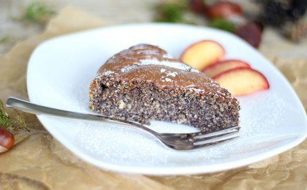 עוגת פרג ותפוחים